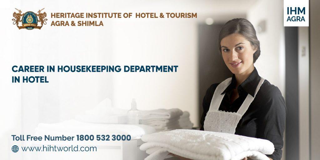 career in housekeeping department